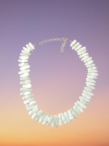 Used Mother of pearl silver necklace 1 in Dubai, UAE