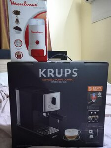 Used KRUPS COMBO EXPRESSO COFFEE MACHINE in Dubai, UAE