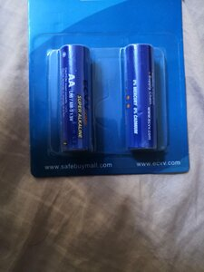 Used ECVV AA ALKALINE BATTERIES 23 PACKETS in Dubai, UAE
