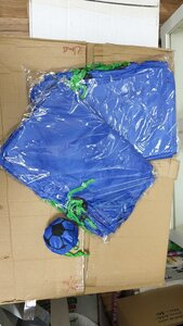 Used Foldable blue bag 50 pcs🎁🎅🎅🎁 in Dubai, UAE