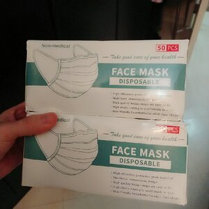 Used Black Mask 100Mask SALE FROM 78 in Dubai, UAE