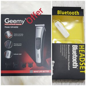 Used GEEMY MACHINE with FREE HEADSET BLUETOOT in Dubai, UAE