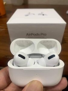 Used AirPods pro, White, black in Dubai, UAE