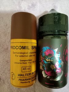 Used Procomil spray & mint vape flavor. in Dubai, UAE
