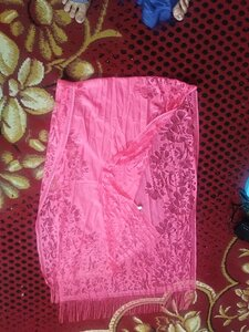 Used Pink colour net dupatta in Dubai, UAE