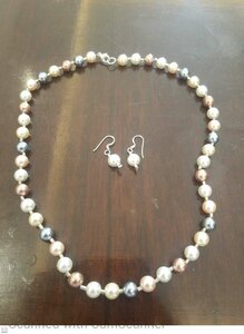 Used Pearl silver set in Dubai, UAE