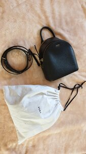 Used Dkny black bag in Dubai, UAE
