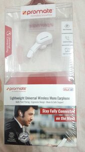 Used NEW:Promate wireless mono earphone:Aural in Dubai, UAE