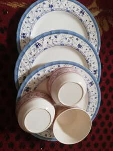 Used 3 plates and 3 bowls . in Dubai, UAE