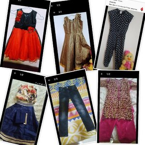 Used kids cloth just like new 2 to 5 yr.... in Dubai, UAE