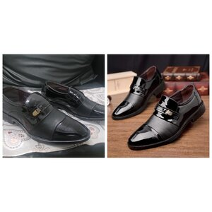 Used Men Loafers Patent Leather Shoes wedding in Dubai, UAE