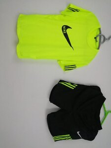 Used Nike sports Pullover Shirt Shorts  Set in Dubai, UAE