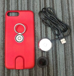 Used iPhonMagnetic Wireless Charging Case+Car in Dubai, UAE