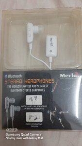 Used New: Merlin bluetooth stereo headphones in Dubai, UAE