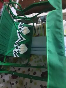 Used Kids swing green colour in Dubai, UAE