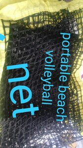 "Used +shaped beach volleyball net60""each side in Dubai, UAE"