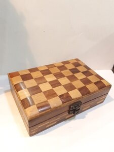 Used Chess Inspired Wooden Jewellery /StorBox in Dubai, UAE