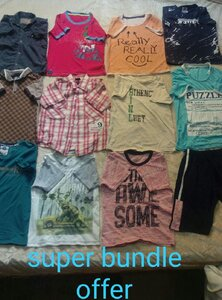 Used Combo offer boys clothes 4-6 / 30 pieces in Dubai, UAE