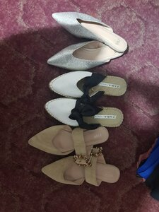Used Bundle of shoes Zara in Dubai, UAE