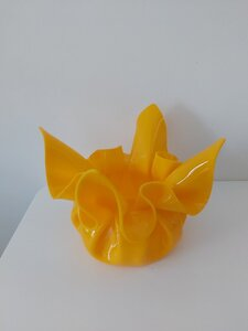 Used Acrylic yellow bowl in Dubai, UAE
