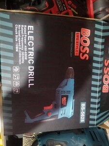Used Boss Electric Drill machine Rated power in Dubai, UAE