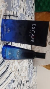 Used Escape Noir Gents Perfume in Dubai, UAE