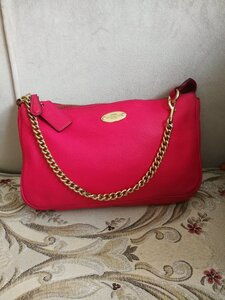 Used AUTHENTIC COACH LEATHER SMALL BAG.. in Dubai, UAE
