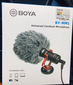 Used boya MIC for camera. Mobile and lappyy in Dubai, UAE