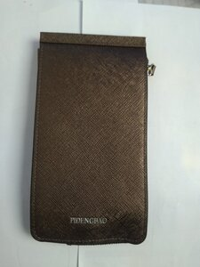 Used Men leather card holder Brown in Dubai, UAE
