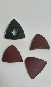 Used Triangular sanding pads 10 pcs in Dubai, UAE