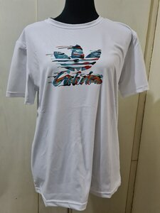 Used New white adidas tshirt size L to Xl in Dubai, UAE
