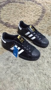 Used Adidas Superstar shoes size 41 new in Dubai, UAE