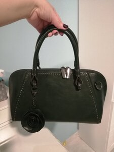 Used Dark Green hand bag (new) in Dubai, UAE