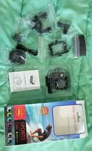 Used FULL HD action Camera 1080 px in Dubai, UAE