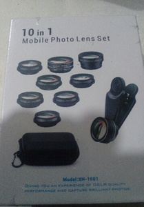 Used 10 In 1 photo lens set brand new in Dubai, UAE