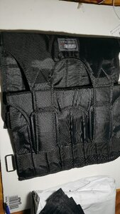 Used Adjustable weighted vest. 2pcs in Dubai, UAE