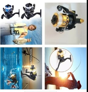 Used Fishing reel new 1pcs in Dubai, UAE
