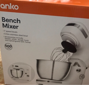 Used Bench mixer 5 litre Stainless steel Bowl in Dubai, UAE