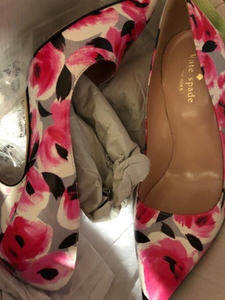 Used Brand New Kate Spade Floral Heels size 6 in Dubai, UAE