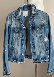 Used Trendy New Jeans jacket  in Dubai, UAE
