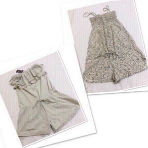 Used 2 PCs Romper Zara / size Small ♥️ in Dubai, UAE