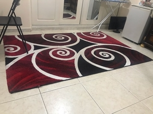 Used Red modern carpet in Dubai, UAE