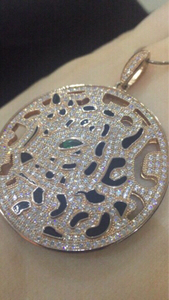 Used Cartier 925 necklace rose gold plated in Dubai, UAE