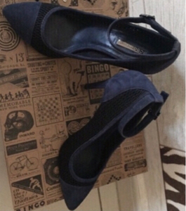 Used Elegant heels blue size 38.5 in Dubai, UAE