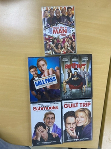 Used 5 Packed New DVD movies  in Dubai, UAE