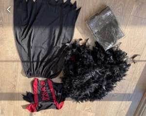 Used Halloween outfit for girl  in Dubai, UAE