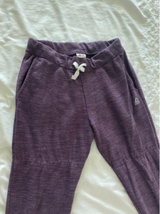 Used Reebok-purple pants  in Dubai, UAE