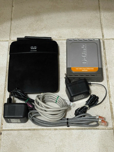 Used WiFi Access Point and wired switch combo in Dubai, UAE