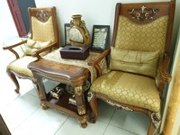 Used Two chairs and small table in Dubai, UAE