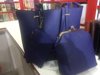 Used 3 in 1 blue Branded Hand Bag for Ladies  in Dubai, UAE